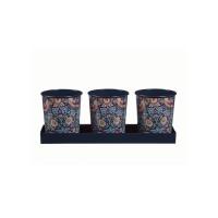 Набор мини-кашпо для трав «Земляничные» William Morris Strawberry Thief Briers