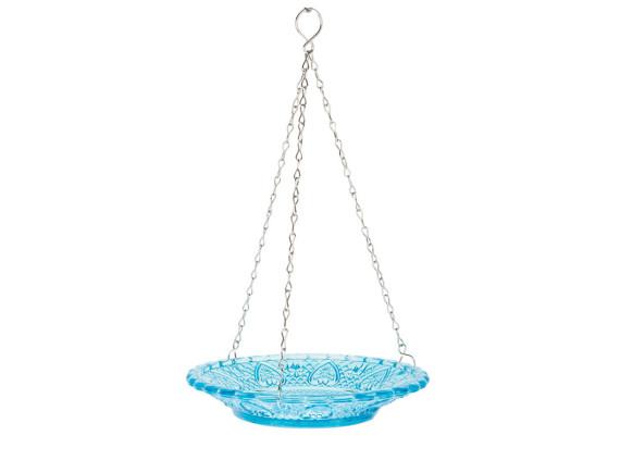 Кормушка для птиц стеклянная Esschert Design (голубая)