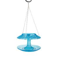 Кормушка для птиц стеклянная крытая Esschert Design (голубая)