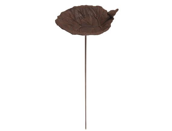 Поилка для птиц «Лист лопуха» Esschert Design