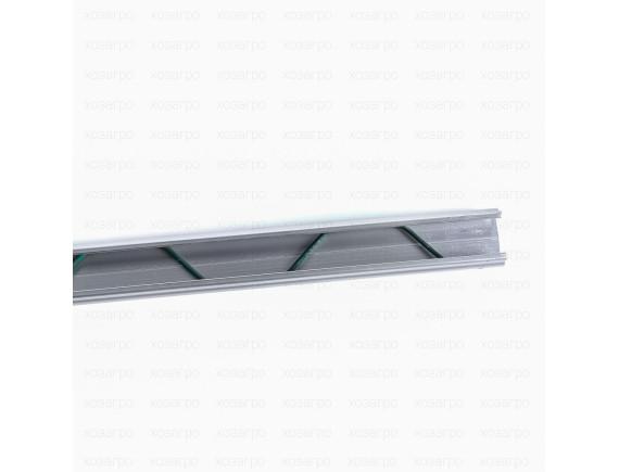 Пружинный оцинкованный профиль зигзаг 2м для крепления пленок, сеток и тентов, ХозАгро