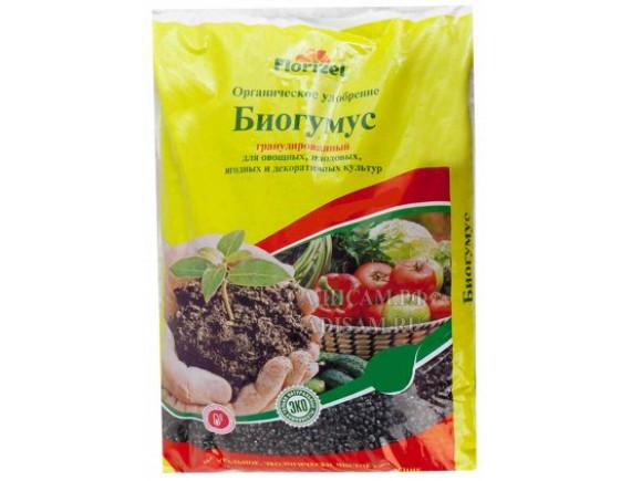 Биогумус Florizel органическое гранулированное удобрение, 2кг