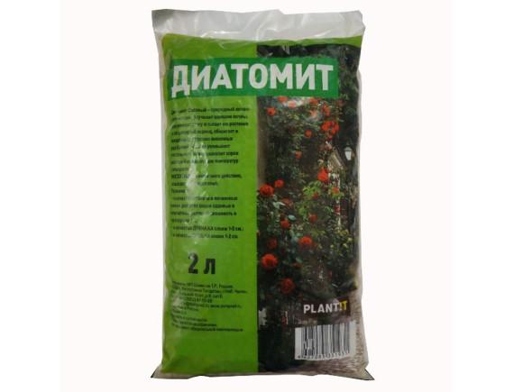 Почвоулучшитель Диатомит садовый, пакет 2л