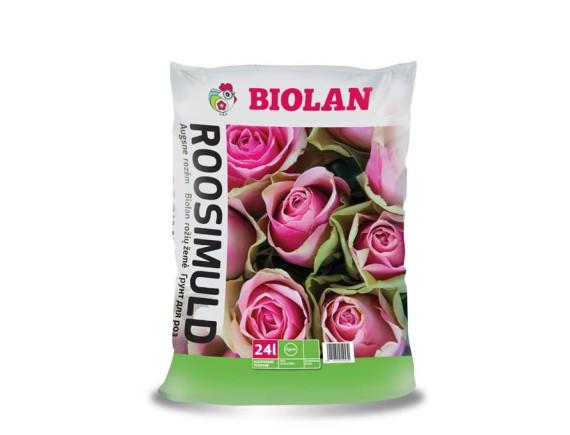 Грунт для роз Biolan 24 л