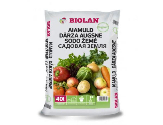 Садовая земля Organic Biolan 40 л