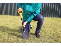 Лопата штыковая укороченная FISKARS Solid New