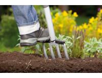 Вилы садовые Gardena Terraline™ с D-образной рукояткой (117 см)