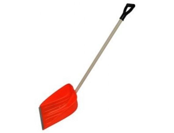Лопата для снега с деревянным черенком 01-03