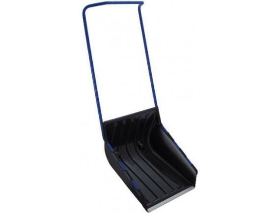 Лопата-движок со стальной ручкой Pusher ARCTIC (черная)