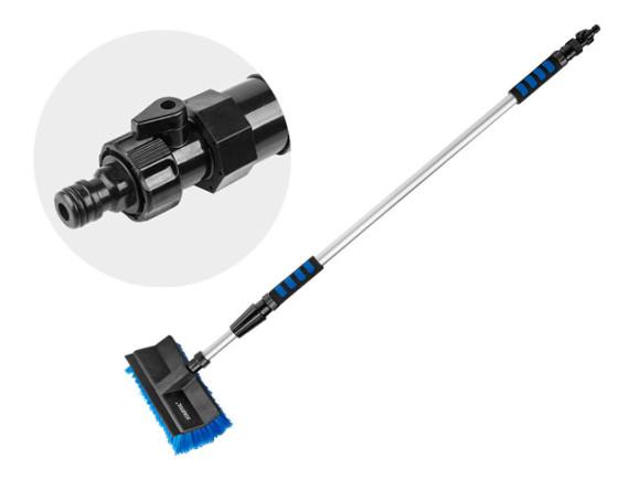 Щетка для мойки телескопическая STARTUL Profi (ST9077-02) с подачей воды
