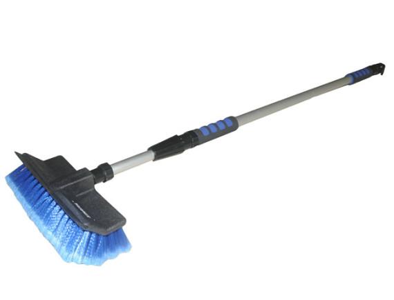 Щетка для уборки телескопическая STARTUL Expert голубая (SE9081-01) с подачей воды