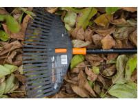 Грабли для листьев средние Fiskars Solid M без черенка (135024)