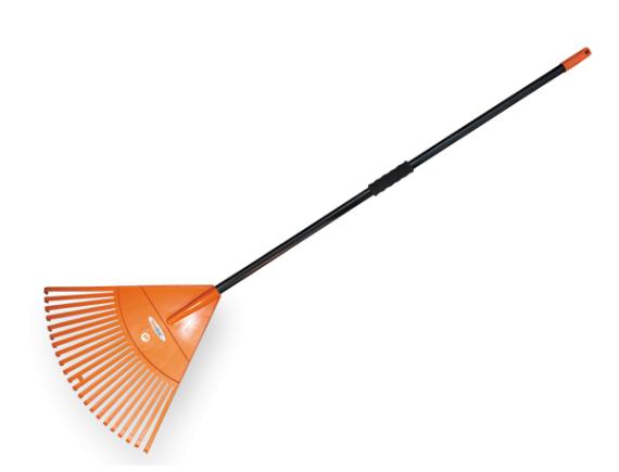 Грабли веерные для уборки листьев и травы с системой QUICK FIT, ширина полотна 50см, BRADAS