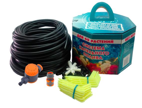 Комплект для полива под кран: АкваДуся +60 без автоматики с механическим таймером Startul