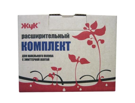 Расширительный комплект для капельного полива Жук с эмиттерной лентой (на 20 растений)