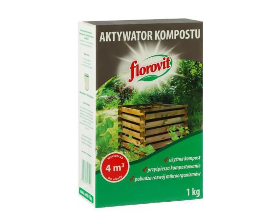 Активатор компоста Флоровит гранулированный, 1кг