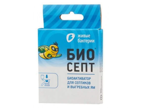 Биоактиватор для септиков и выгребных ям БИОСЕПТ, 50г (2 пакетика по 25г)
