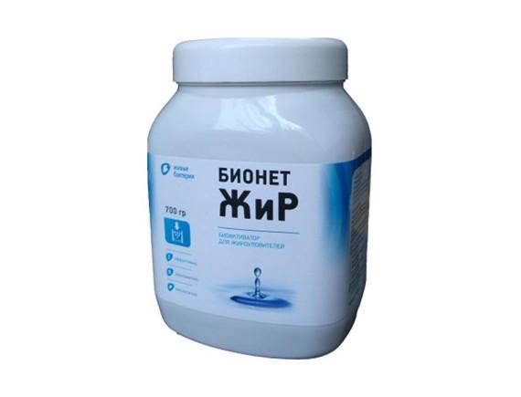 Биоактиватор для жироуловителей БИОНЕТ ЖИР, 700г