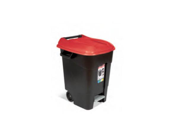 Контейнер для мусора пластиковый с педалью 100л TAYG (421105)