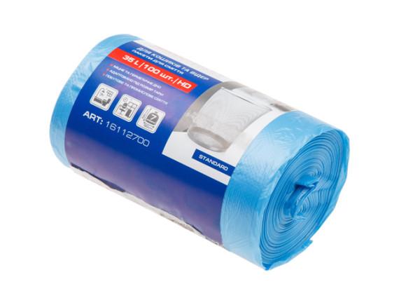 Мешки для мусора 35л/100шт PROservice Standard (синие)