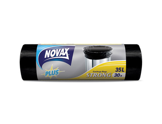 Мешки для мусора 35л/30шт NV Plus NOVAX