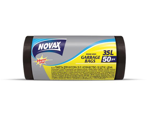Мешки для мусора 35л/50шт NV NOVAX