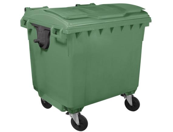 Мусорный контейнер 1100 л (цвета в ассортименте)