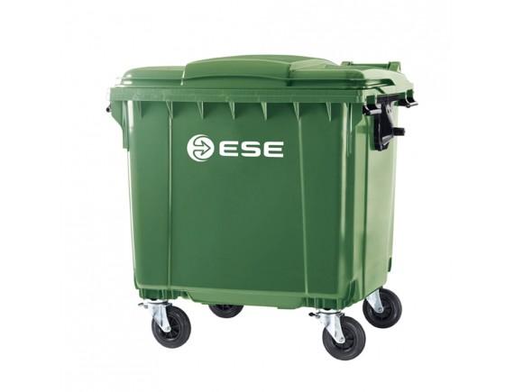 Мусорный контейнер ESE 1100 л (цвета в ассортименте)