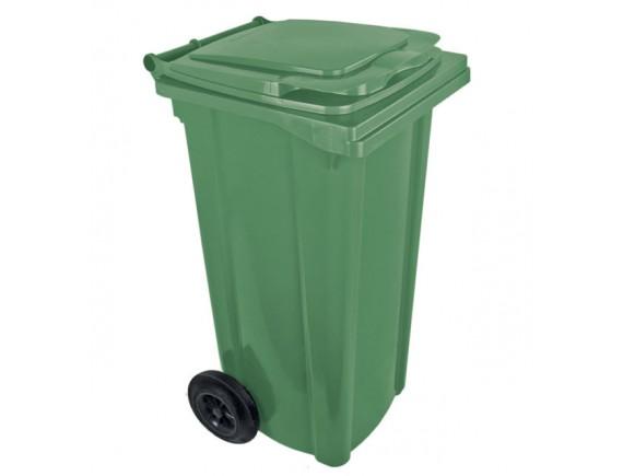 Мусорный контейнер 120 л (цвета в ассортименте)