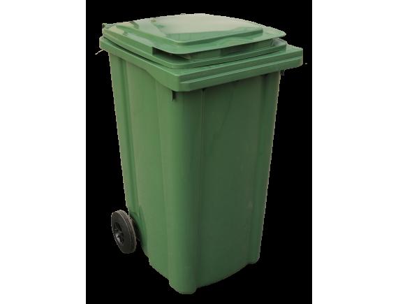 Мусорный контейнер 240 л (цвета в ассортименте)