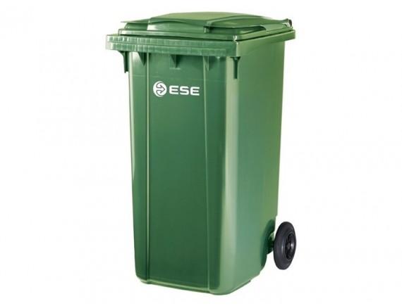 Мусорный контейнер ESE 240 л (цвета в ассортименте)