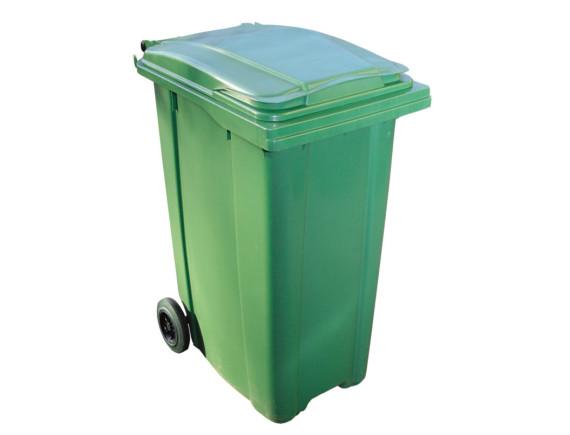 Мусорный контейнер 360 л (цвета в ассортименте)