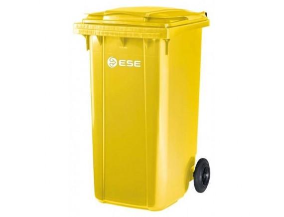 Мусорный контейнер ESE 360 л (цвета в ассортименте)