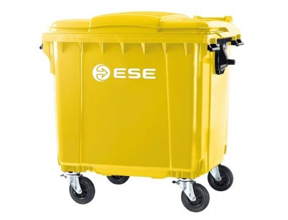 Мусорный контейнер ESE 660 л (цвета в ассортименте)