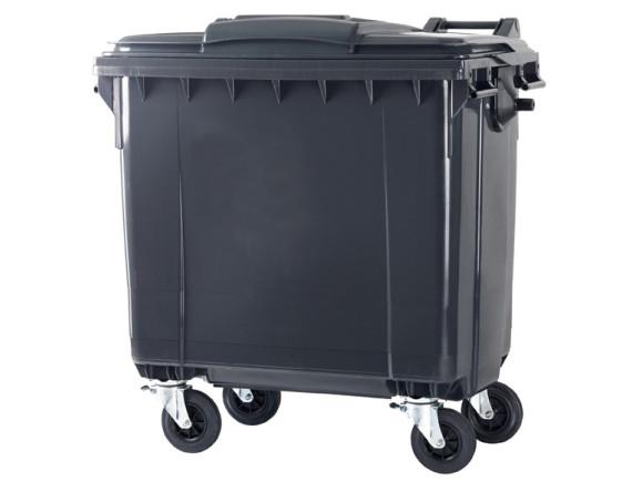 Пластиковый мусорный контейнер ESE 1100 л (цвета в ассортименте)