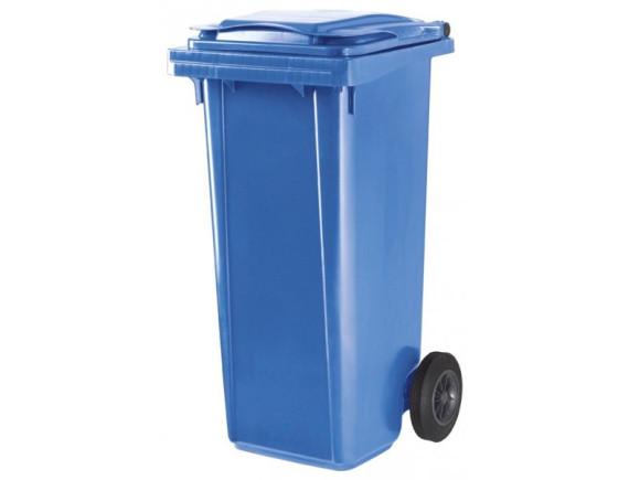 Пластиковый мусорный контейнер ESE 120 л (цвета в ассортименте)