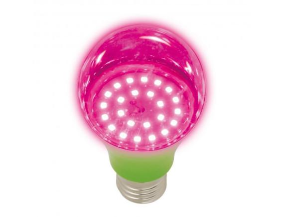 Фитолампа светодиодная для растений Uniel LED-A60-8W-SPSB-E27-CL PLP30GR