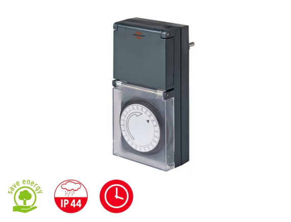 Розетка-таймер суточная механическая Brennenstuhl MZ 44