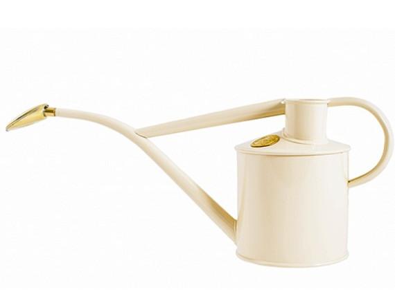 Лейка для цветов металлическая 1 л. Rowley Ripple Cream, HAWS