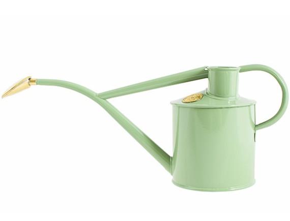 Лейка для цветов металлическая 1 л. Rowley Ripple Sage, HAWS