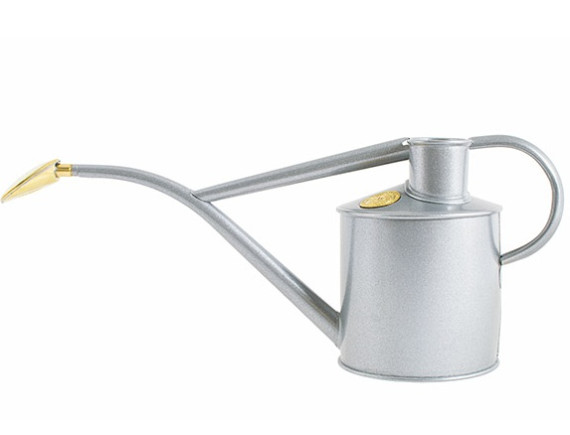 Лейка для цветов металлическая 1 л. Rowley Ripple Titanium, HAWS