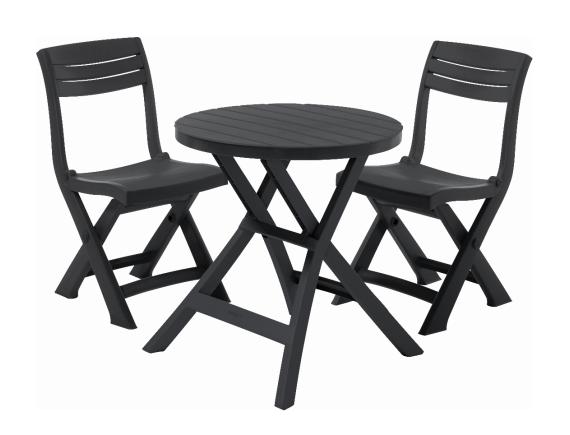 Комплект мебели Jazz Set, графит
