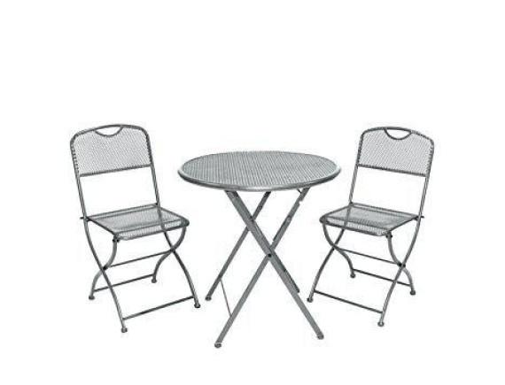 Комплект мебели (стол, два стула) Balkonset Estera