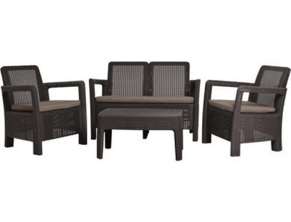 Комплект мебели Tarifa Set, графит