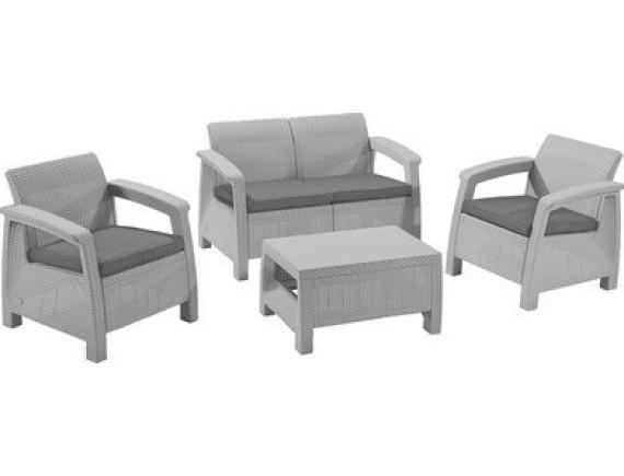 Набор уличной мебели Сorfu II Set-Gry933-std, серый