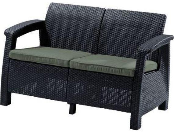 Скамья двухместная Corfu II Love Seat - Grp426-std