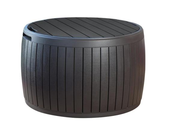 Стол-сундук Circa Wood  Storage, коричневый