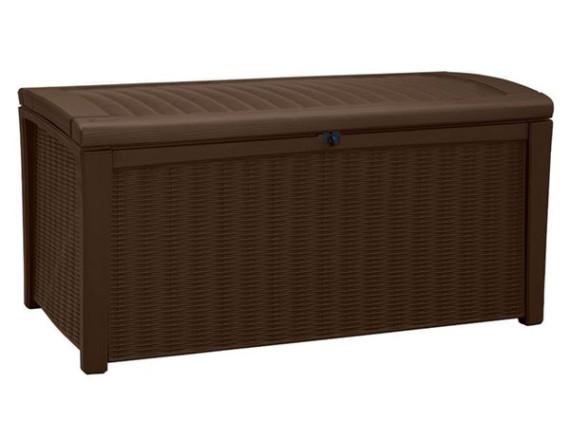 Сундук пластиковый Borneo Storage Box, коричневый