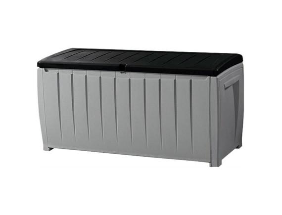 Сундук пластиковый Novel Storage Box, серый-черный