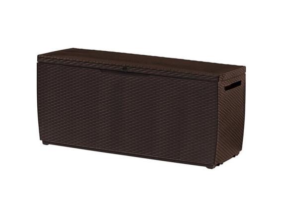 Сундук пластиковый Capri deck Box 302l, коричневый